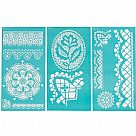 Large Stencils - Cathedral Lace