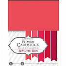 "Value Pack Smooth Cardstock 8.5""X11"" - Romantic Reds"