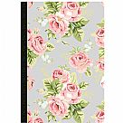 Color Crush Composition Planner Notebook - Gray Floral