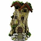 מיניאטורה - Fairy Garden LED Treehouse