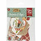 חיתוכי קארדסטוק - Celebrate Autumn Cardstock Die-Cuts - Frames & Tags