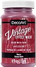 Vintage Effect Wash - Berry