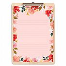 Wild Rose A4 Clipboard Pack
