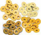 Eyelets - Wide - Yellow