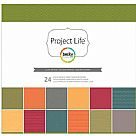 Project Life Slate Collection - 12X12 Designer Paper Pack