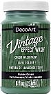 Vintage Effect Wash - Hunter Green
