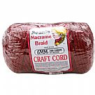 Macrame Craft Cord 6mmX100yd - Wine)