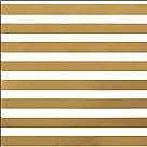 דף קארדסטוק פויל - DIY Shop 2 - Thick Gold Foil Stripe On White