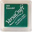 דיו לבדים - VersaCraft Small Ink Pad - Emerald