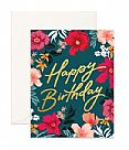 כרטיס ברכה- Happy Birthday Florentine Greeting Card