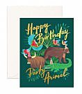 כרטיס ברכה- Party Animal Greeting Card