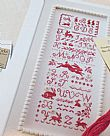 counted cross stitch pattern : The Rabbit Alphabet