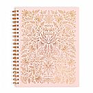 מחברת ספירלה דפי שורה- Rose Quartz Large Spiral Notebook