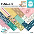 FUSEables Collection - 12X12 Paper Pad - Patterned