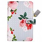 פלאנר - Color Crush Personal Planner Binder - Grey Floral