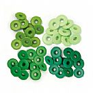 Eyelets - Wide - Green