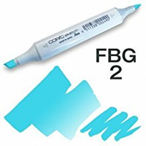 Copic Sketch Marker - FBG2 Fluorescent Dull Blue Green