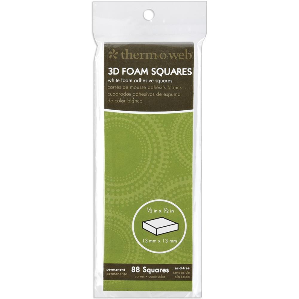"""דבק דו צדדי - 3D Foam Squares - White 0.5"""""""
