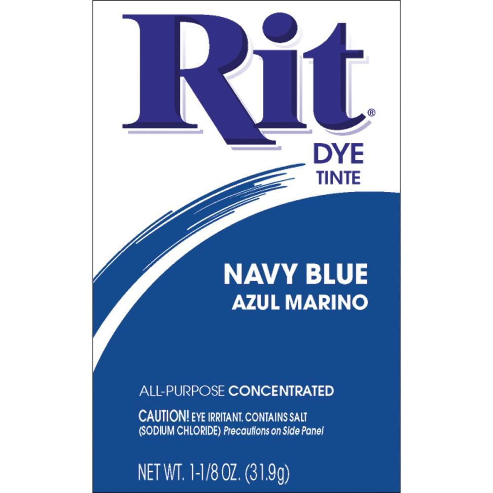 אבקת צבע לבדים Rit Dye Powder - Navy Blue