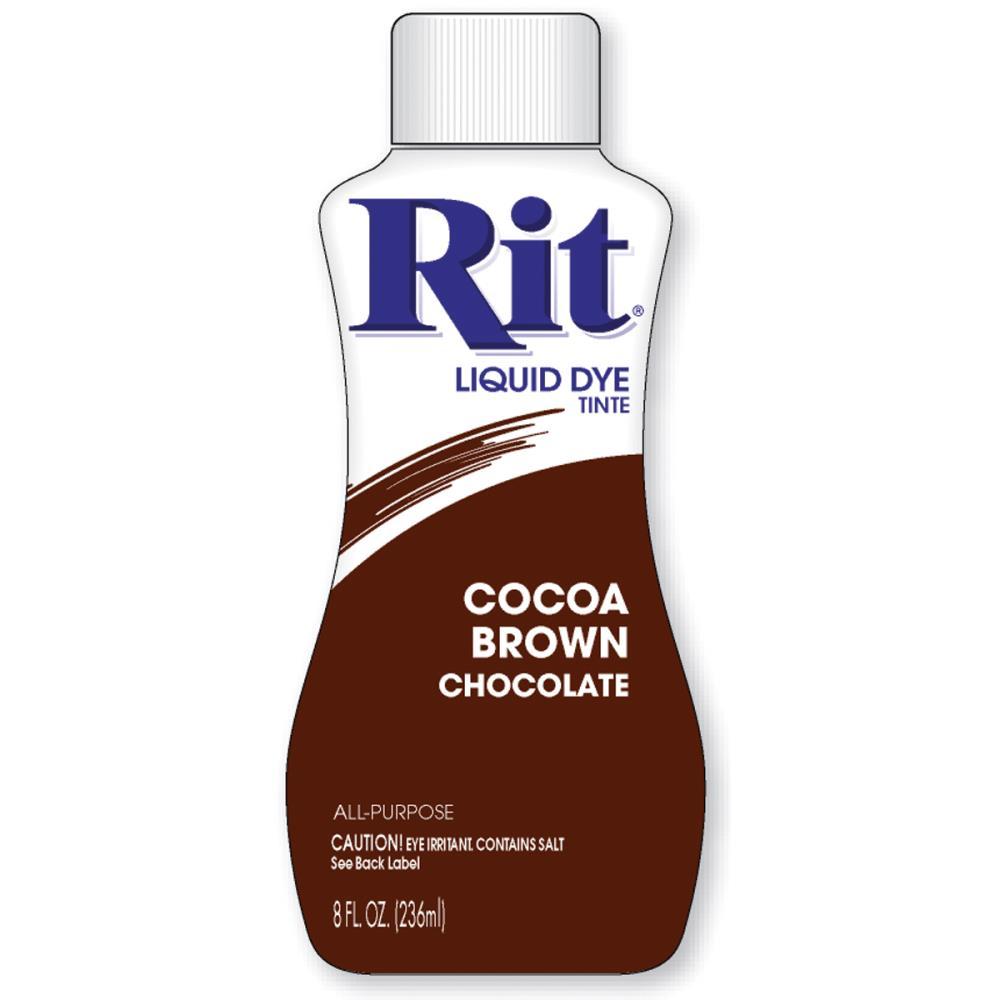 צבע לבדים Rit Dye Liquid - Cocoa Brown