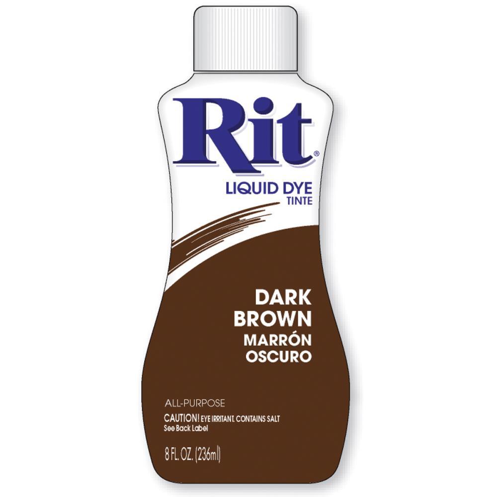 צבע לבדים Rit Dye Liquid - Dark Brown