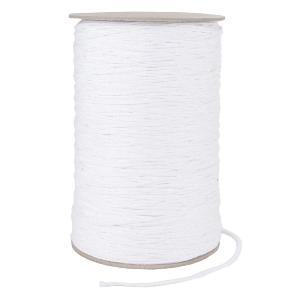 חבל לבן דק - Cable Cord Size 16