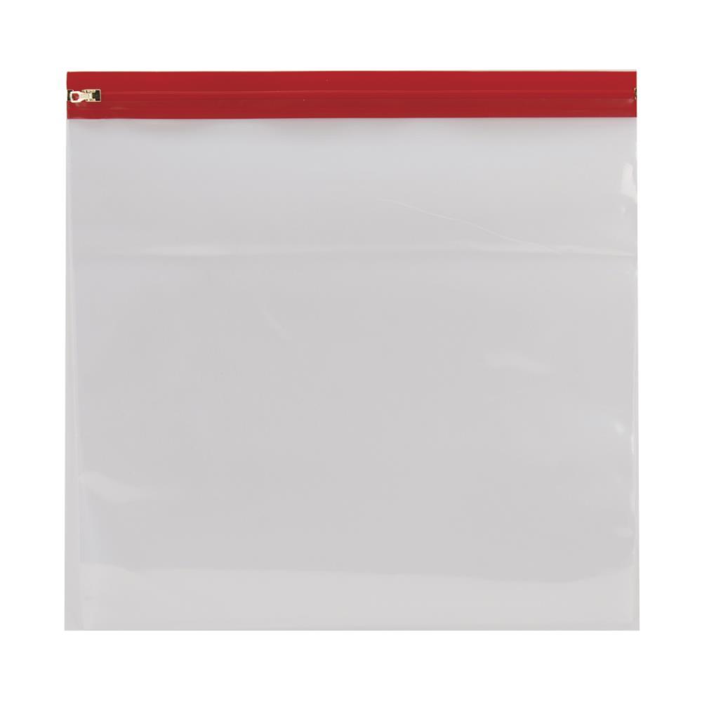 """שקית לאחסון נייר - אדום 14X13"""""""