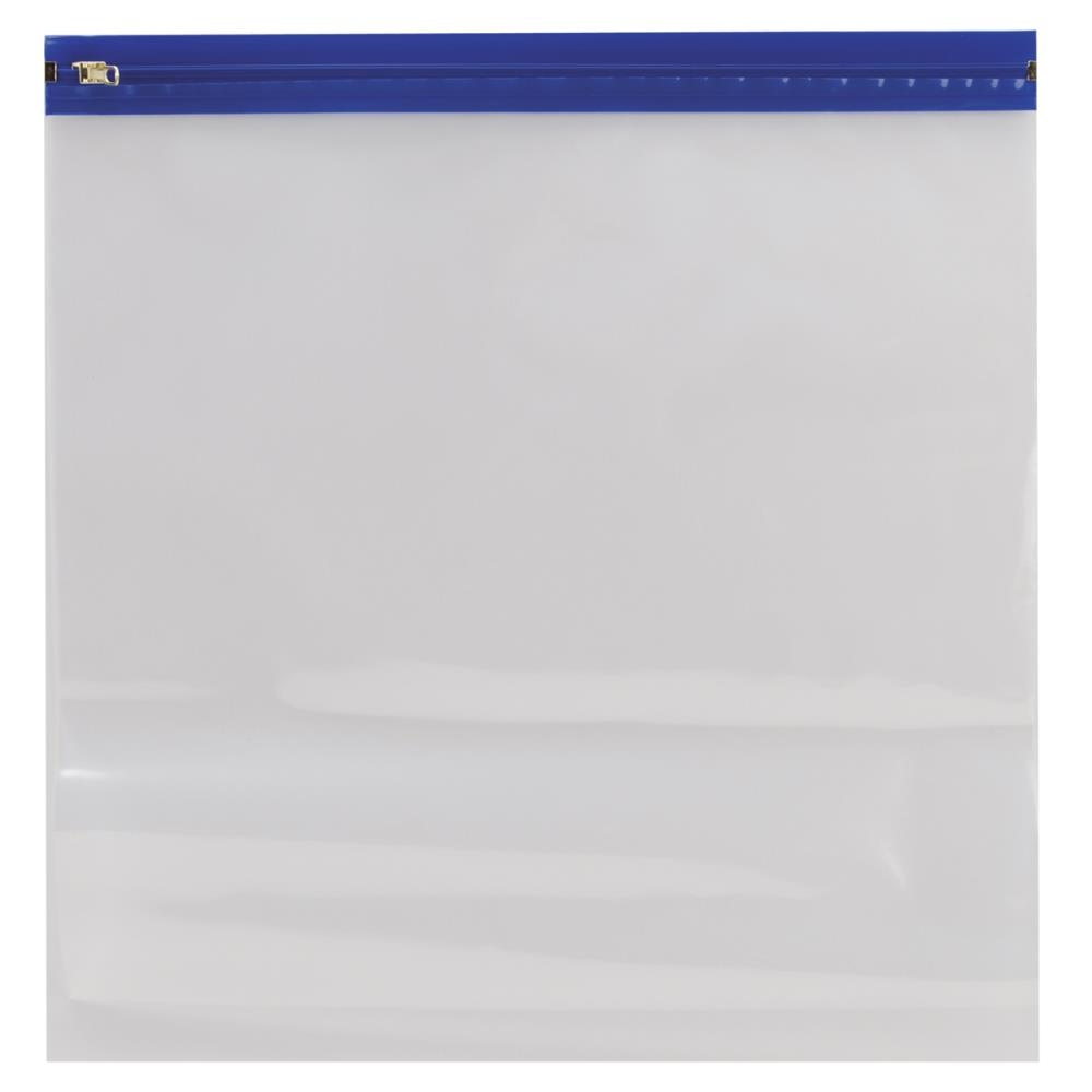 """שקית לאחסון נייר - כחול 14X13"""""""