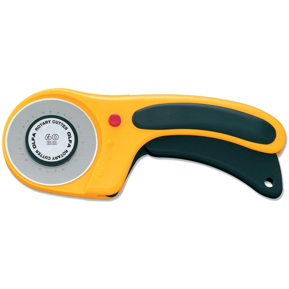 גלגלת לחיתוך בדים - Deluxe Rotary Cutter - 60mm