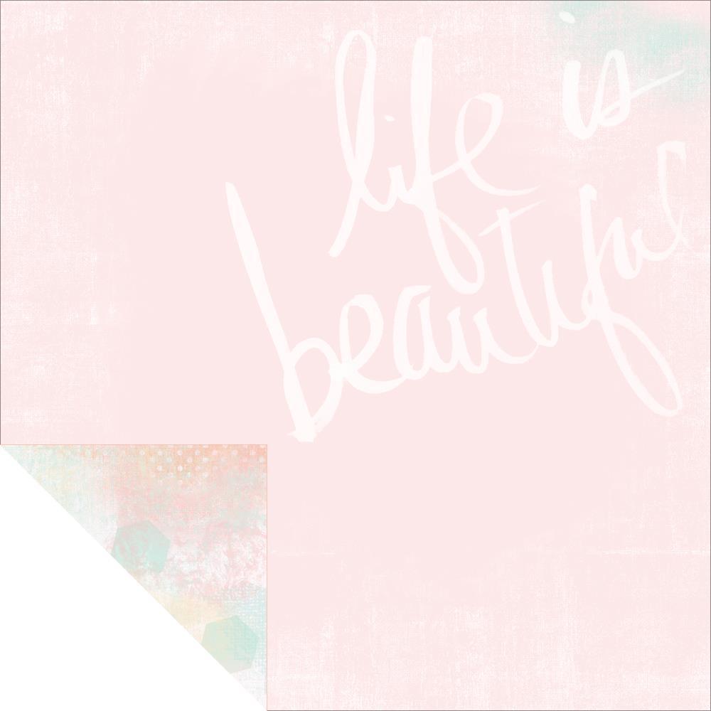 דף קארדסטוק - Dreamy - Life Is Beautiful