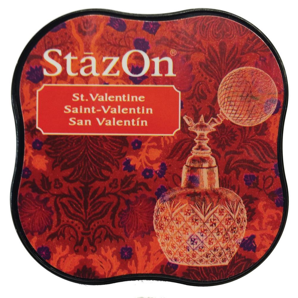 דיו יבש - StazOn Midi Ink Pad - St. Valentine