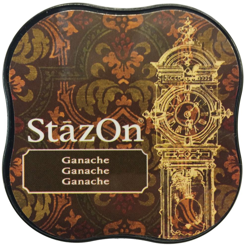 דיו יבש - StazOn Midi Ink Pad - Ganache