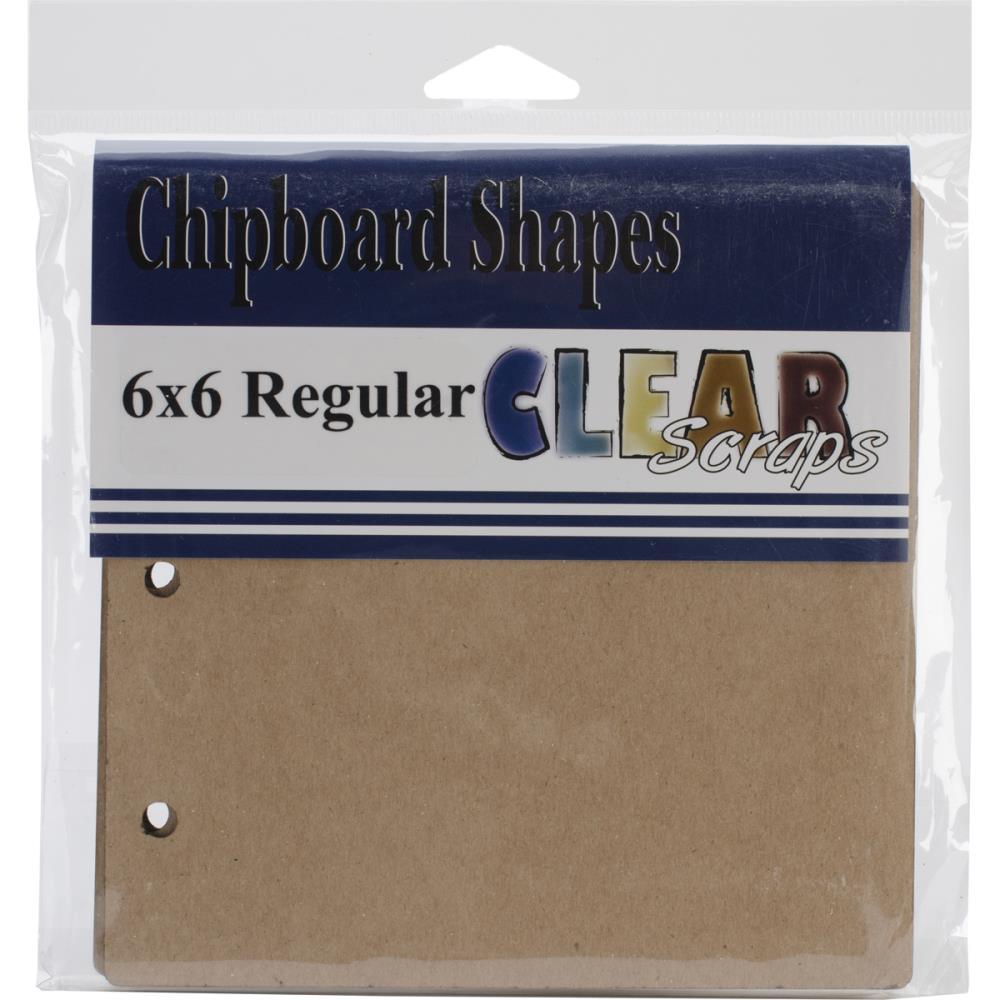 "Regular Chipboard Album 6""X6"""
