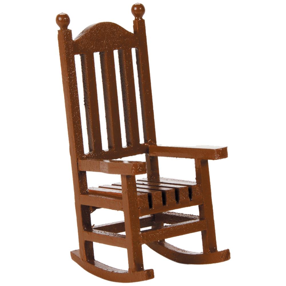Timeless Miniatures - Wood Rocking Chair