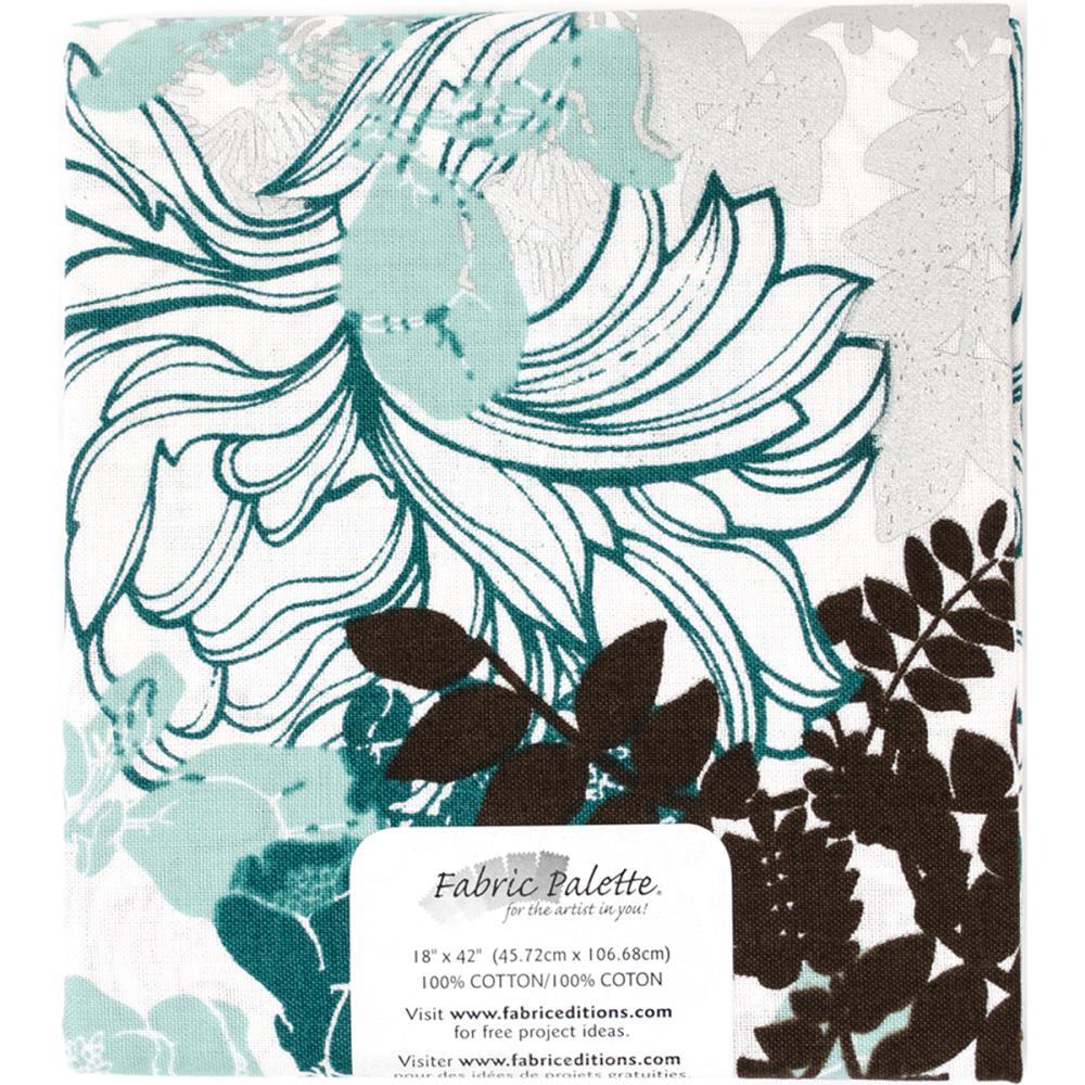 "Melodic Floral Precut 18""X42"" - Floral"