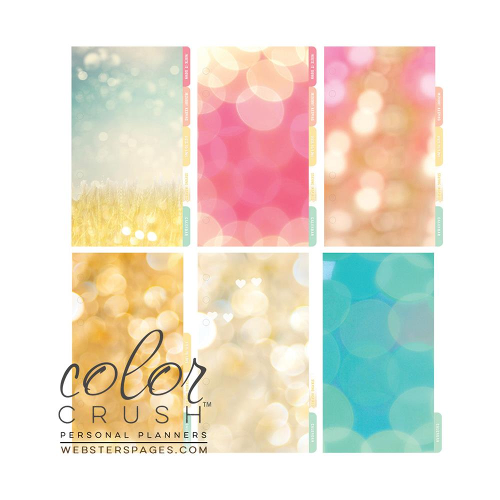Color Crush Personal Planner Divider Set Kit - Today Is A Great Day