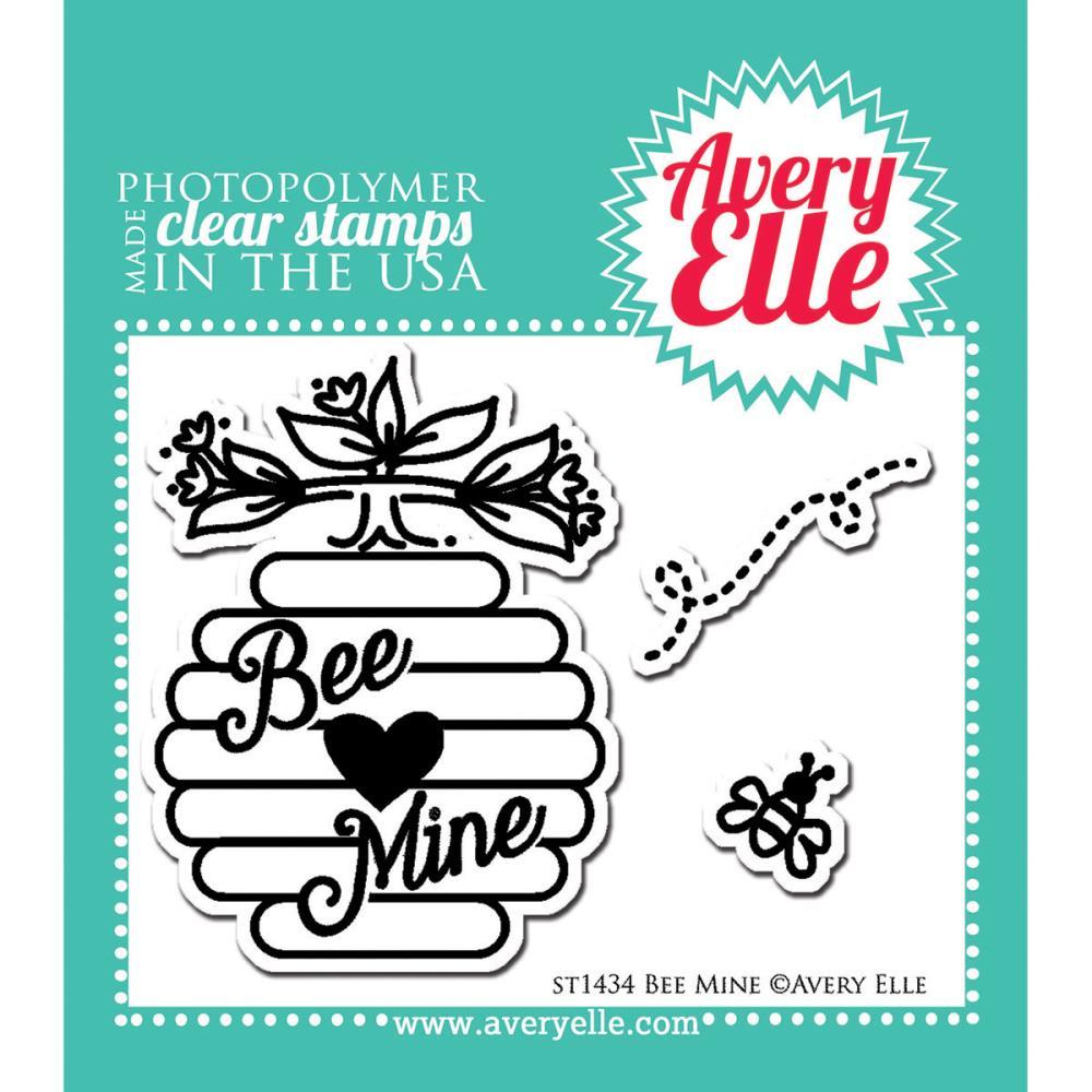 חותמות סיליקון - Clear Stamp Set - Bee Mine