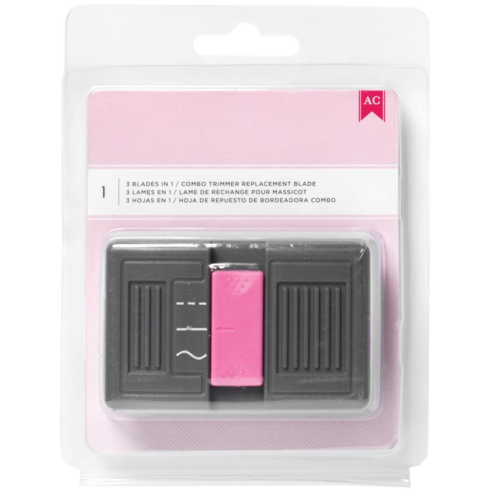Pink Combo Blade Trimmer 3 In 1 Blade