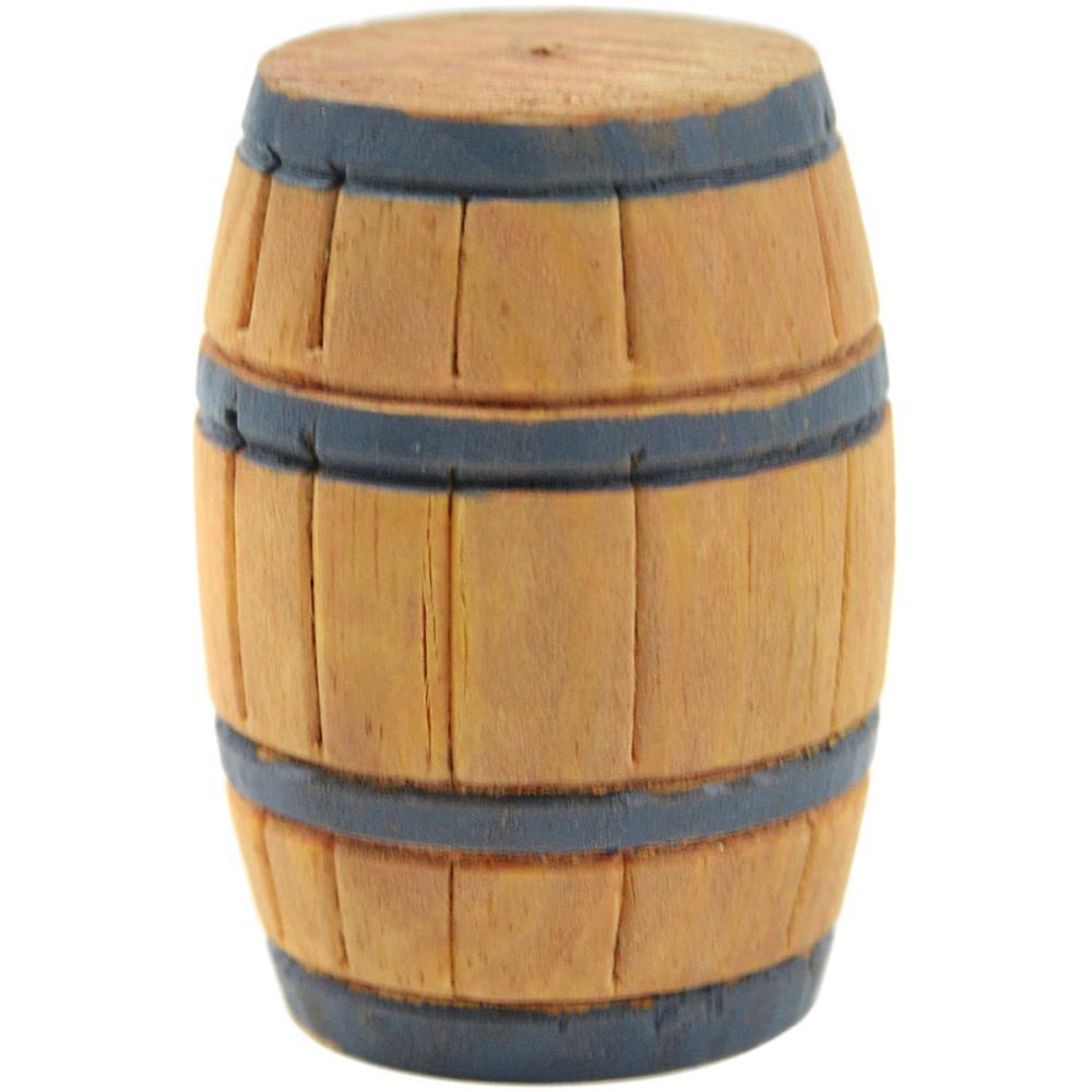 מיניאטורה Mini Garden Barrel - Wood