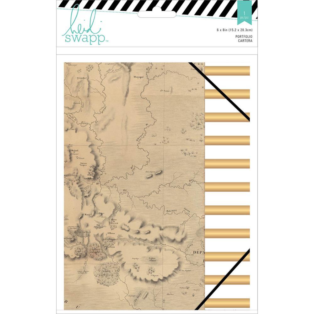 "Wanderlust Portfolio Folder 6""X8"""