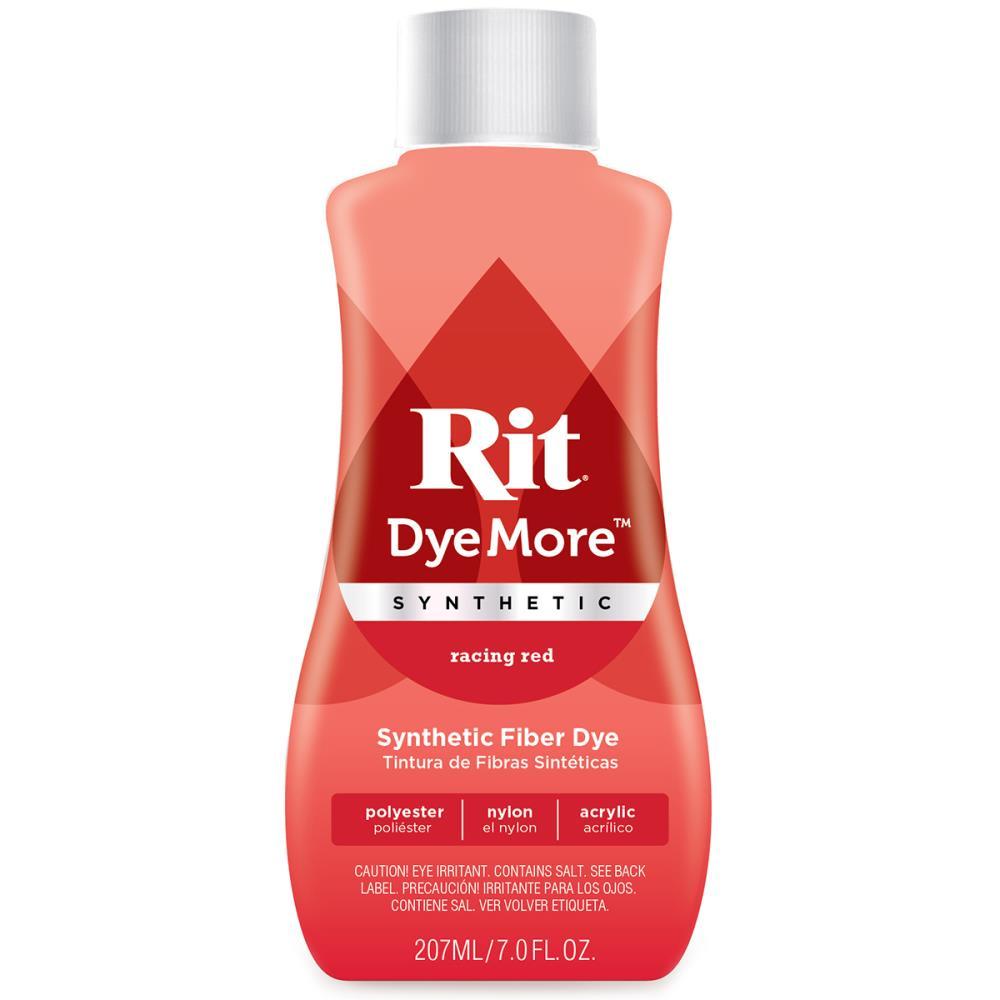 צבע לבדים סינטטיים Rit Dye More Synthetic - Racing Red