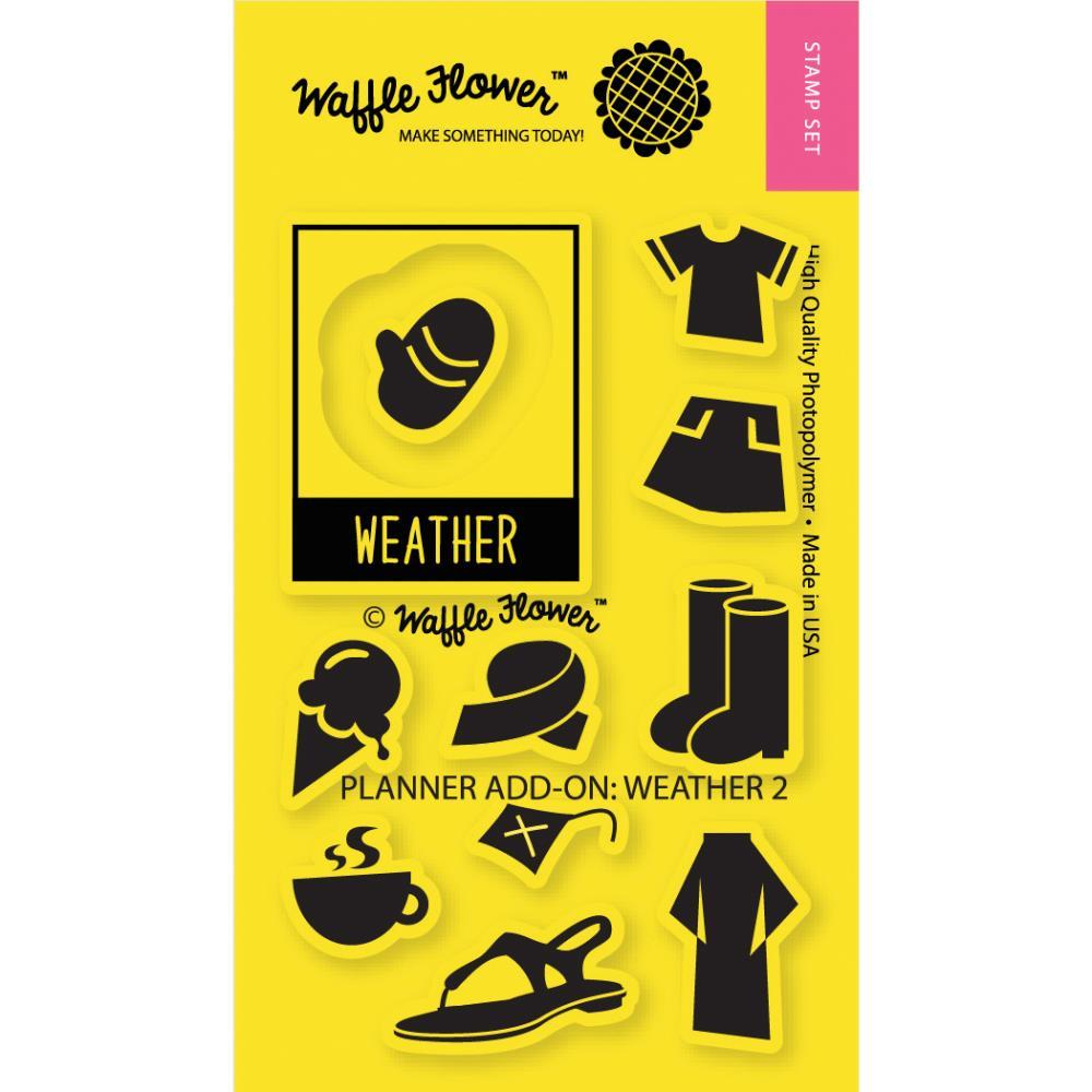 חותמות סיליקון - Planner Add-On: Weather 2