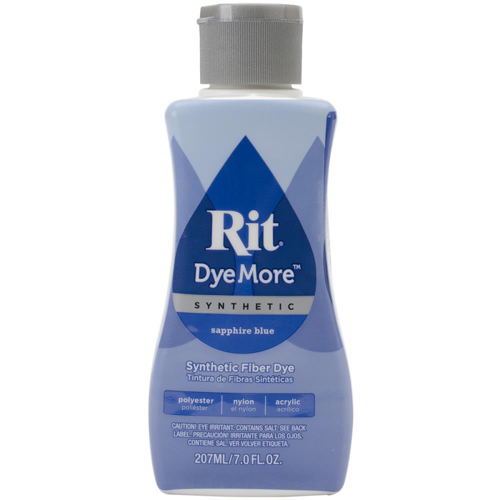 צבע לבדים סינטטיים Rit Dye More Synthetic - Sapphire Blue