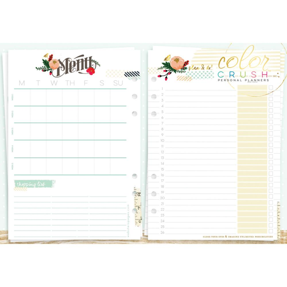 A5 Personal Planner Inserts - Lists To Love