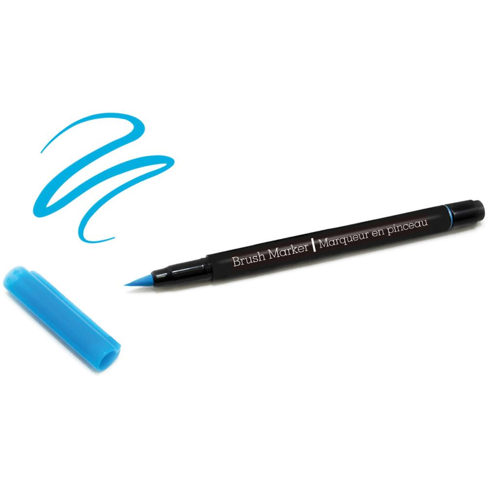 Color Factory Long-Tip Brush Marker - Light Blue