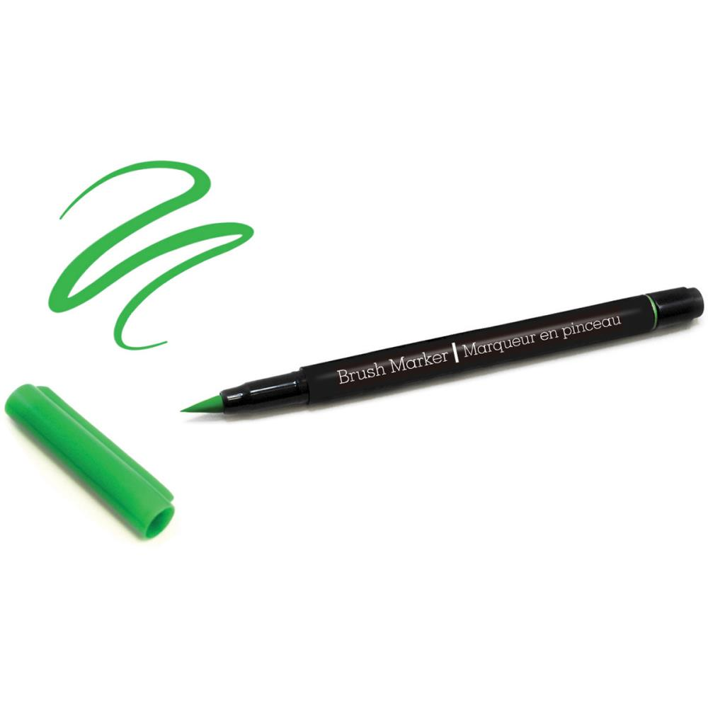 Color Factory Long-Tip Brush Marker - Kelly Green