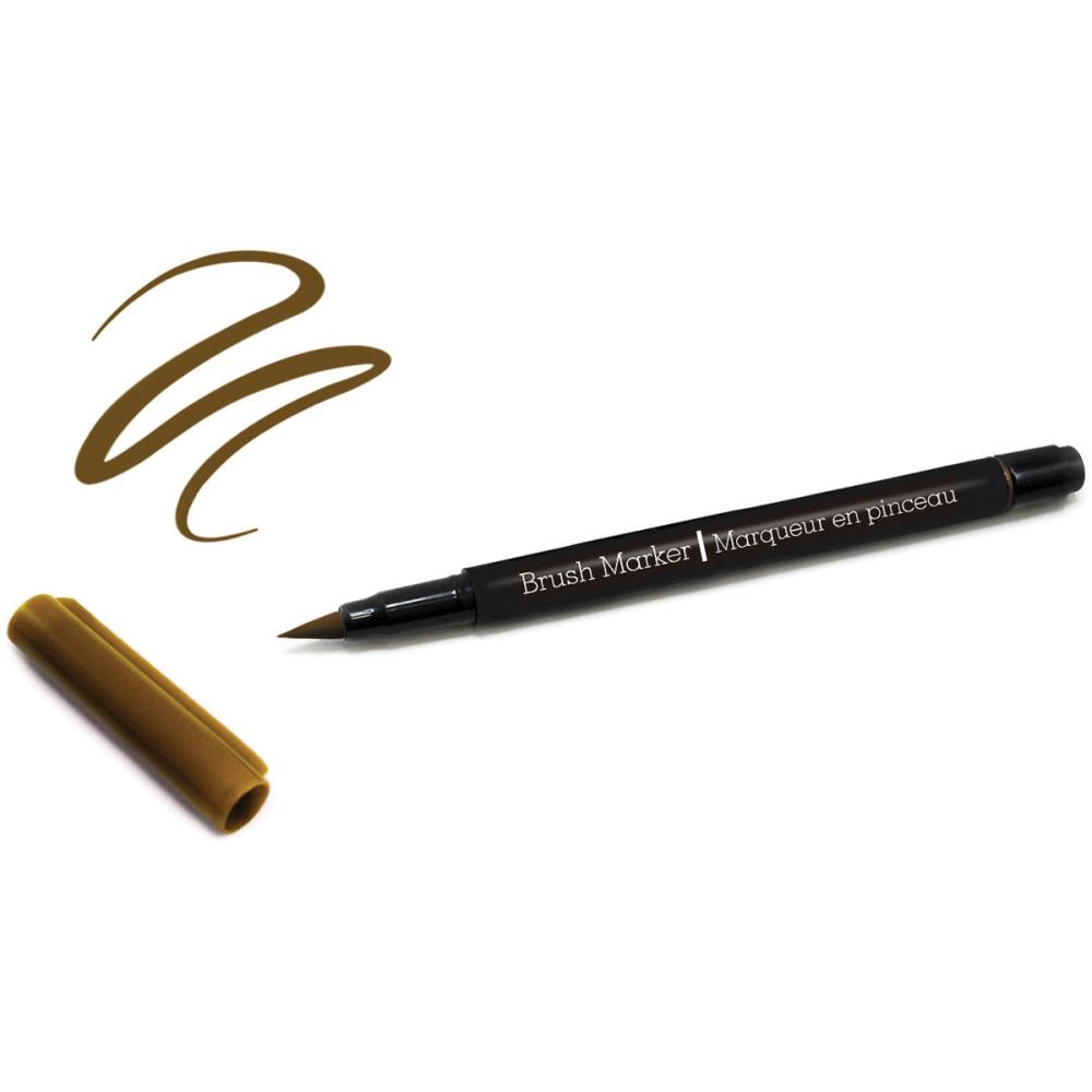Color Factory Long-Tip Brush Marker - Light Chocolate Brown