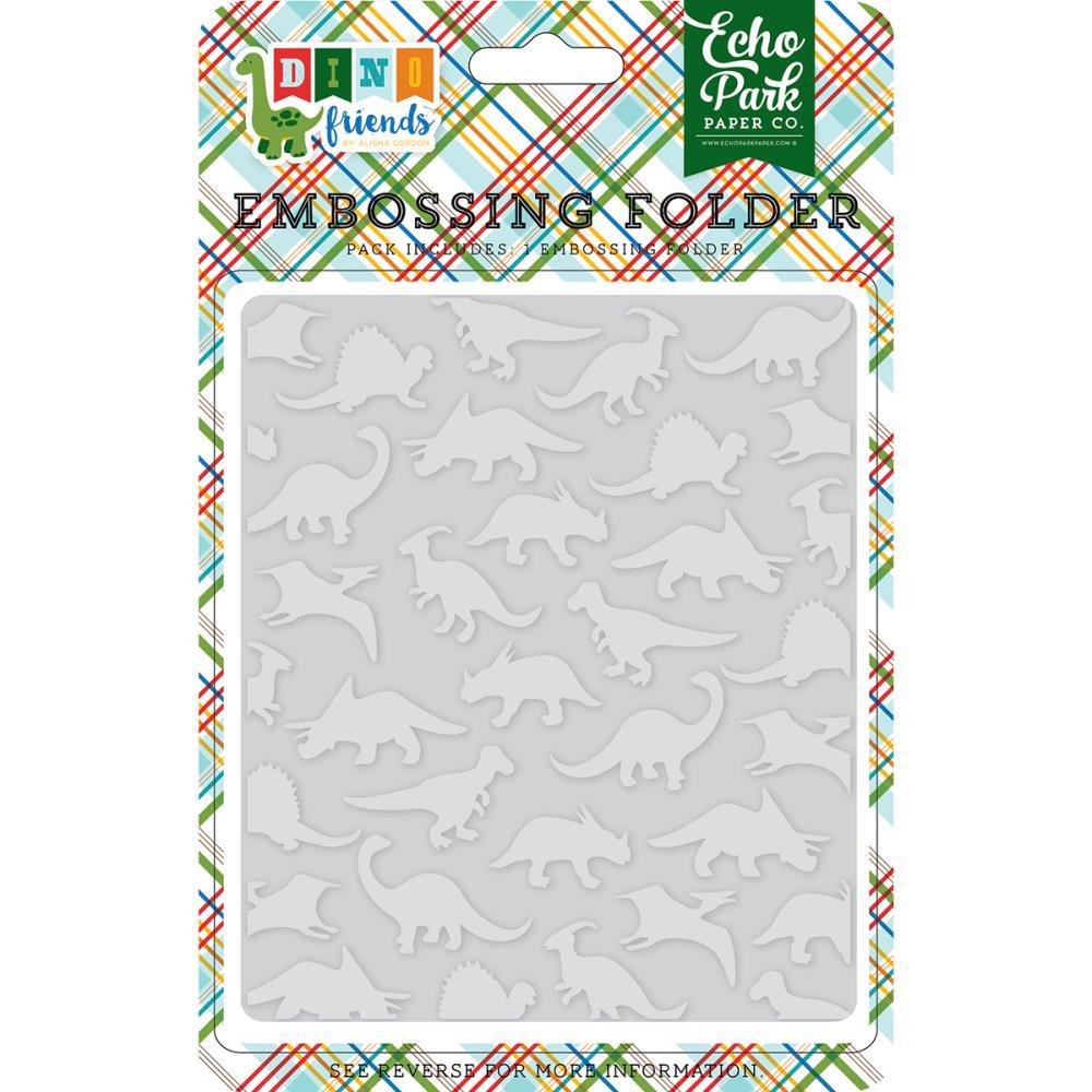 תבנית הבלטה - Embossing Folder - Dinosaurs