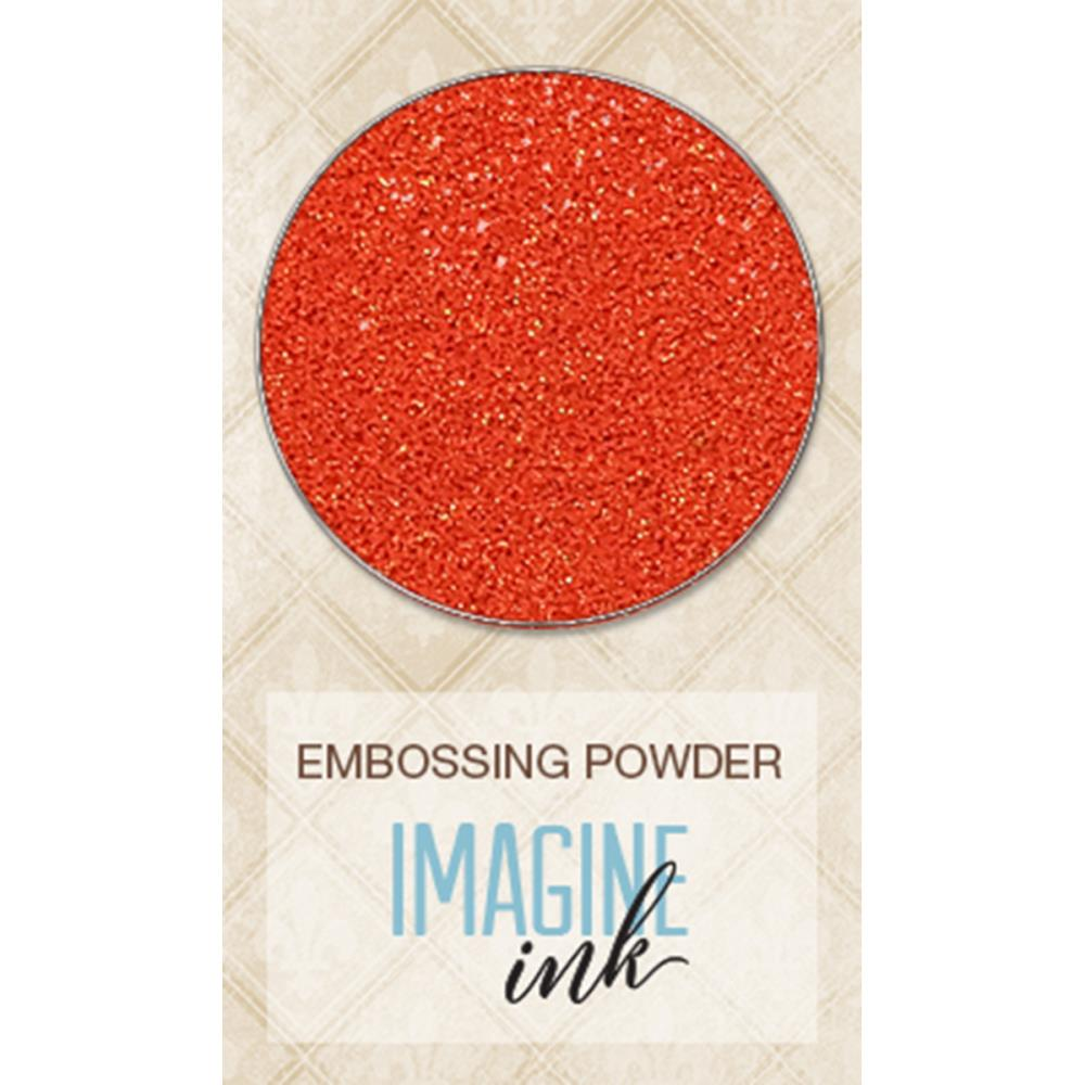 אבקת הבלטה - Embossing Powder - Tangerine