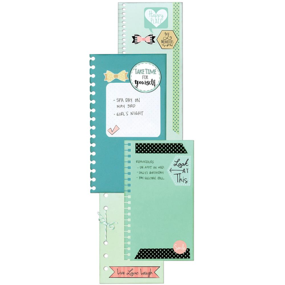 סט תבניות חיתוך - Thinlits Die Set - Planner Page Bindables
